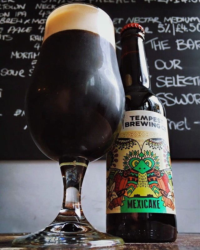 Rich, silky smooth, vanilla with a chilli kick at the end. Mexicake from @tempestbrewingco ....it's just awesome. #simonthetanner #motherkellys #tempestbrewingco #drinklocal #bermondsey #southlondon #craftnotcrap #craftbeer #beerporn