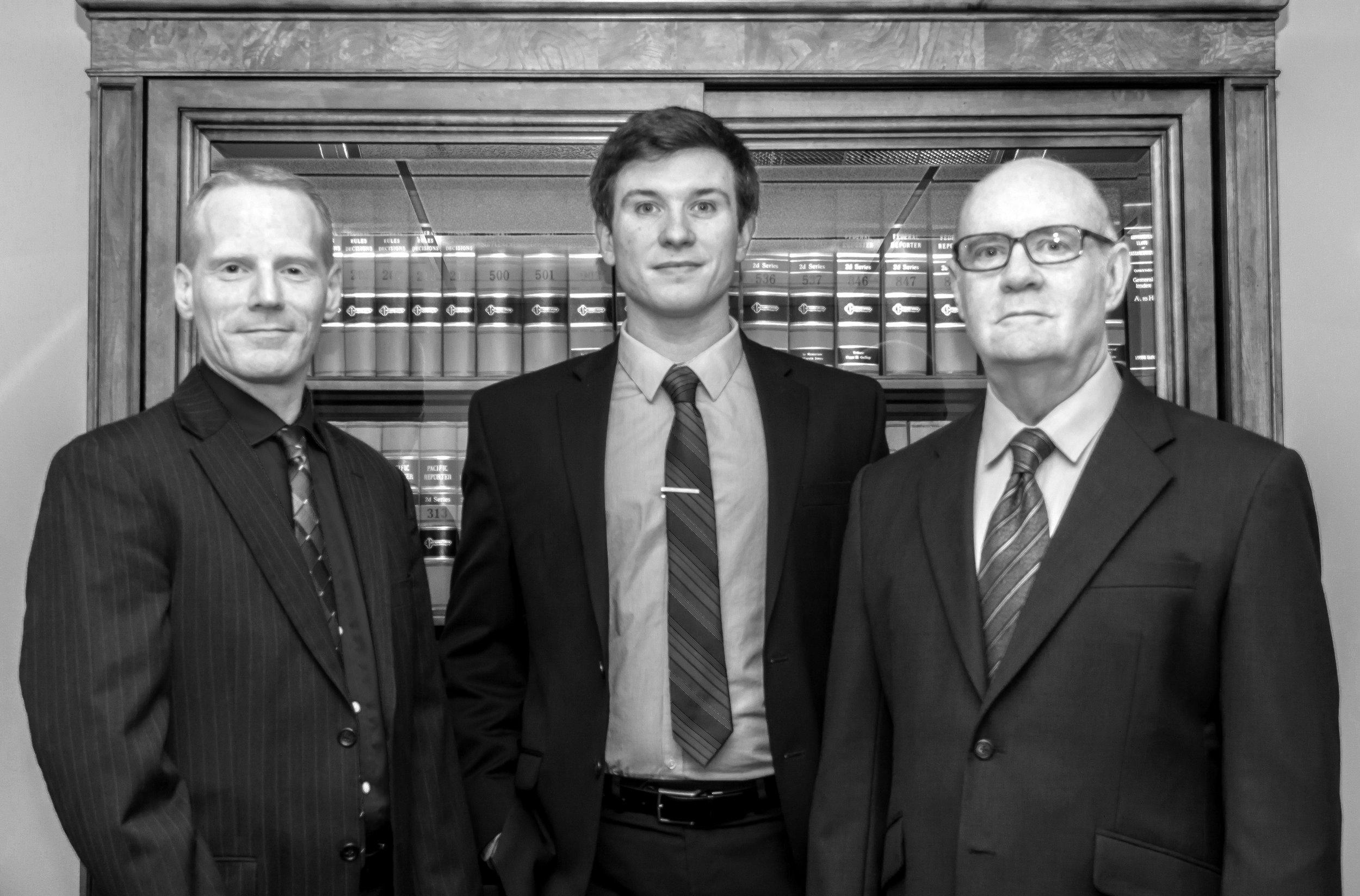 Law Office of Stark & Heiner - Attorney Michael Heiner, Assistant Brian Sapienza and Attorney Tim Stark - 2015