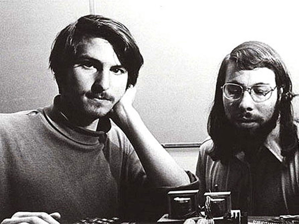 The first Apple computer was designed and hand-built by Steve Wozniak. It was his friend Steve Jobs who had the idea of selling it.