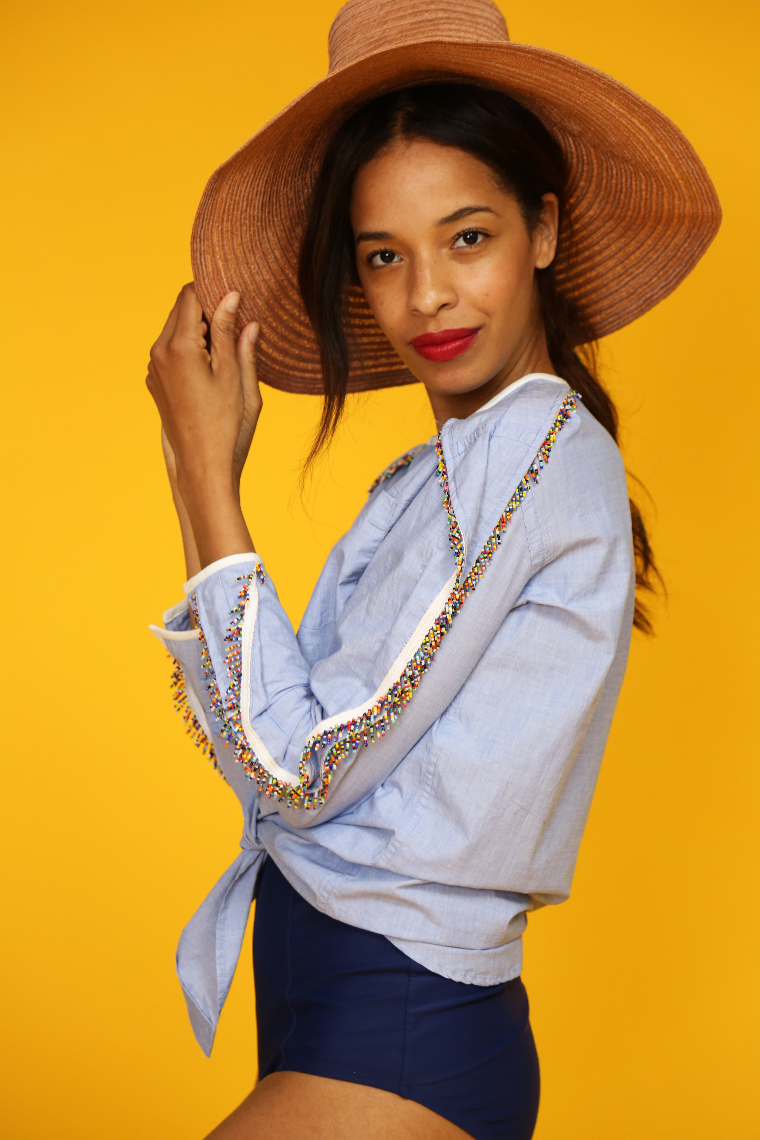 Fringe Shirt - click to read the story