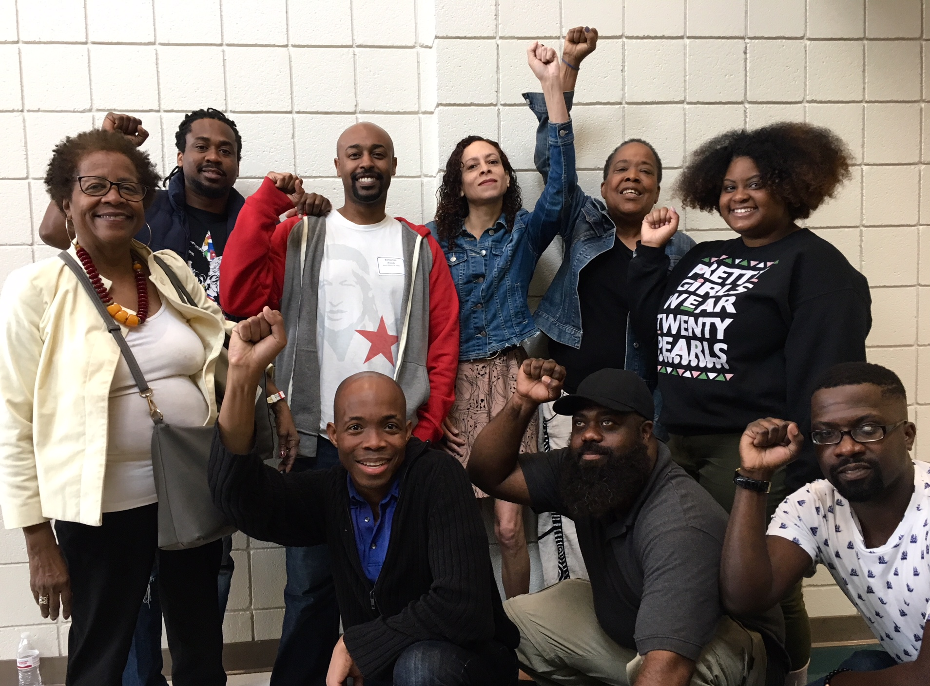 BAP members at National Assembly for Black Liberation!