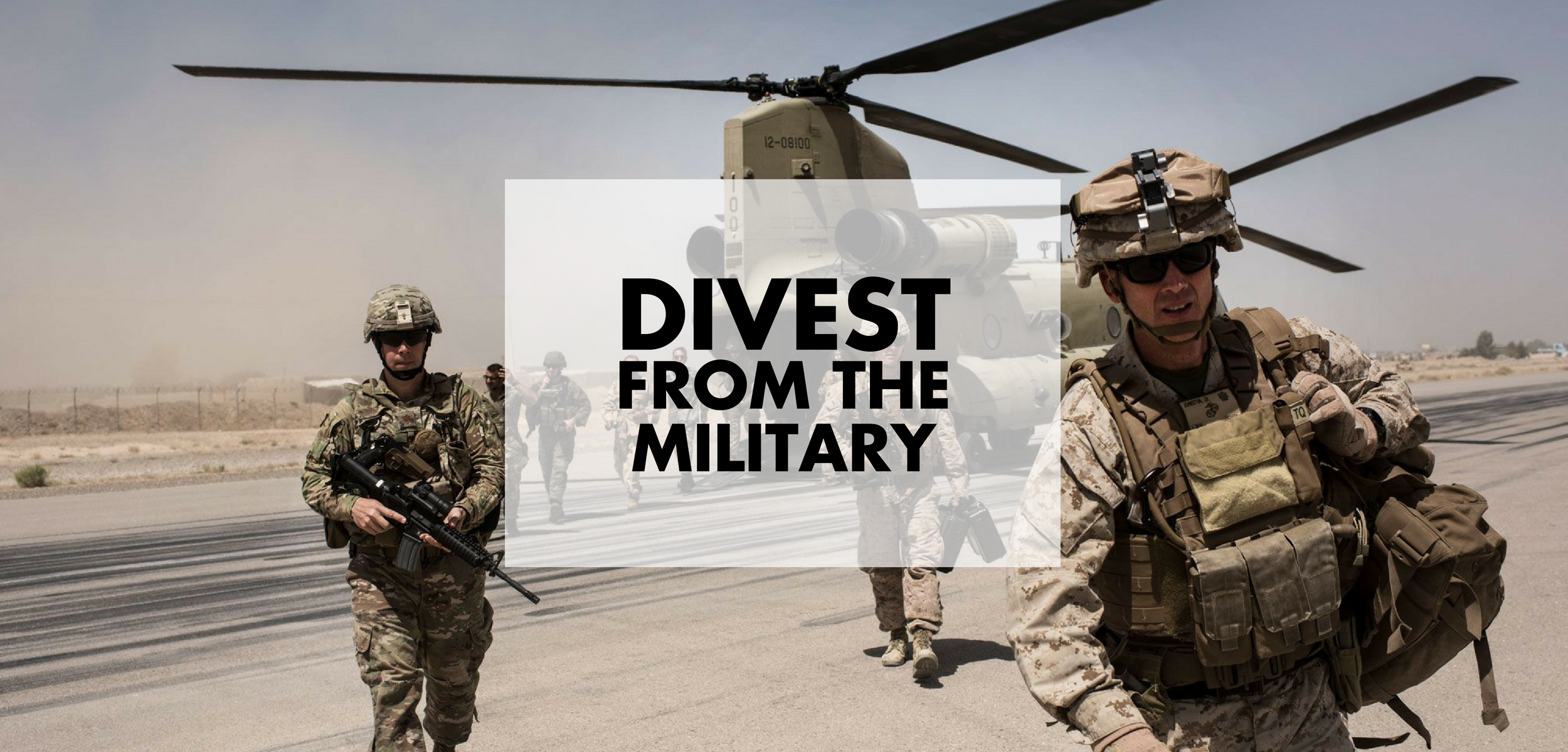 Divest from the Military