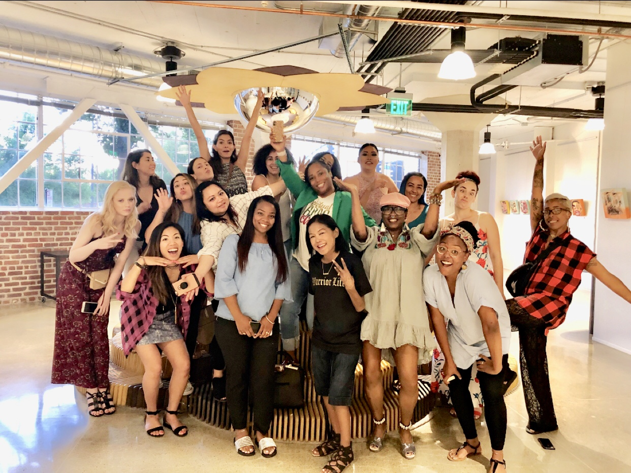 Win With Women Session 3 - June 21, 2018 @ The Urban Hive Special thanks to Joe Boy Bakes for providing treats for this session!