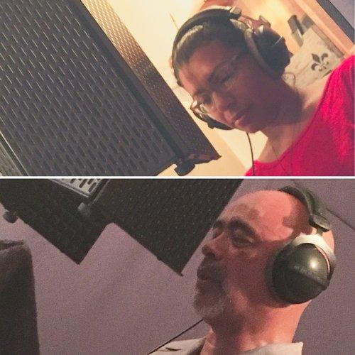 J. F. Seary and Juan Cartegena- Timestorm recording session