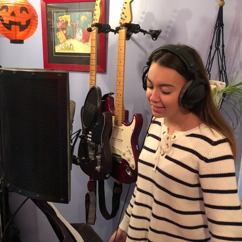 Jessica Bracken - Timestorm recording session