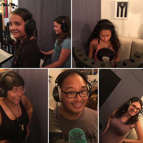 Actors - Timestorm recording session