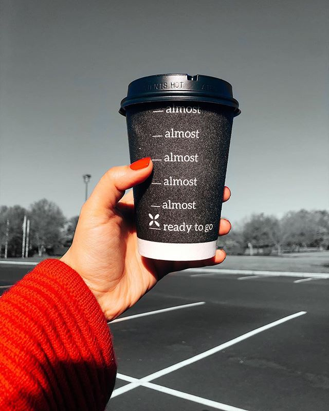 """There is no such thing as ready. There is only now.  The """"ready"""" on this cup refers to when I am actually interested in engaging in conversation😭. What's at the top of your laundry list of """"things to do""""? #explorepage #coffeecup #dixiecup #todolist"""