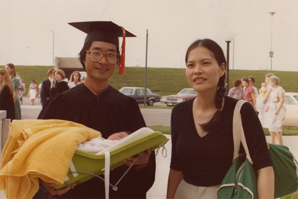 My parents, refugees from Vietnam, taught me the values of family, education and community.
