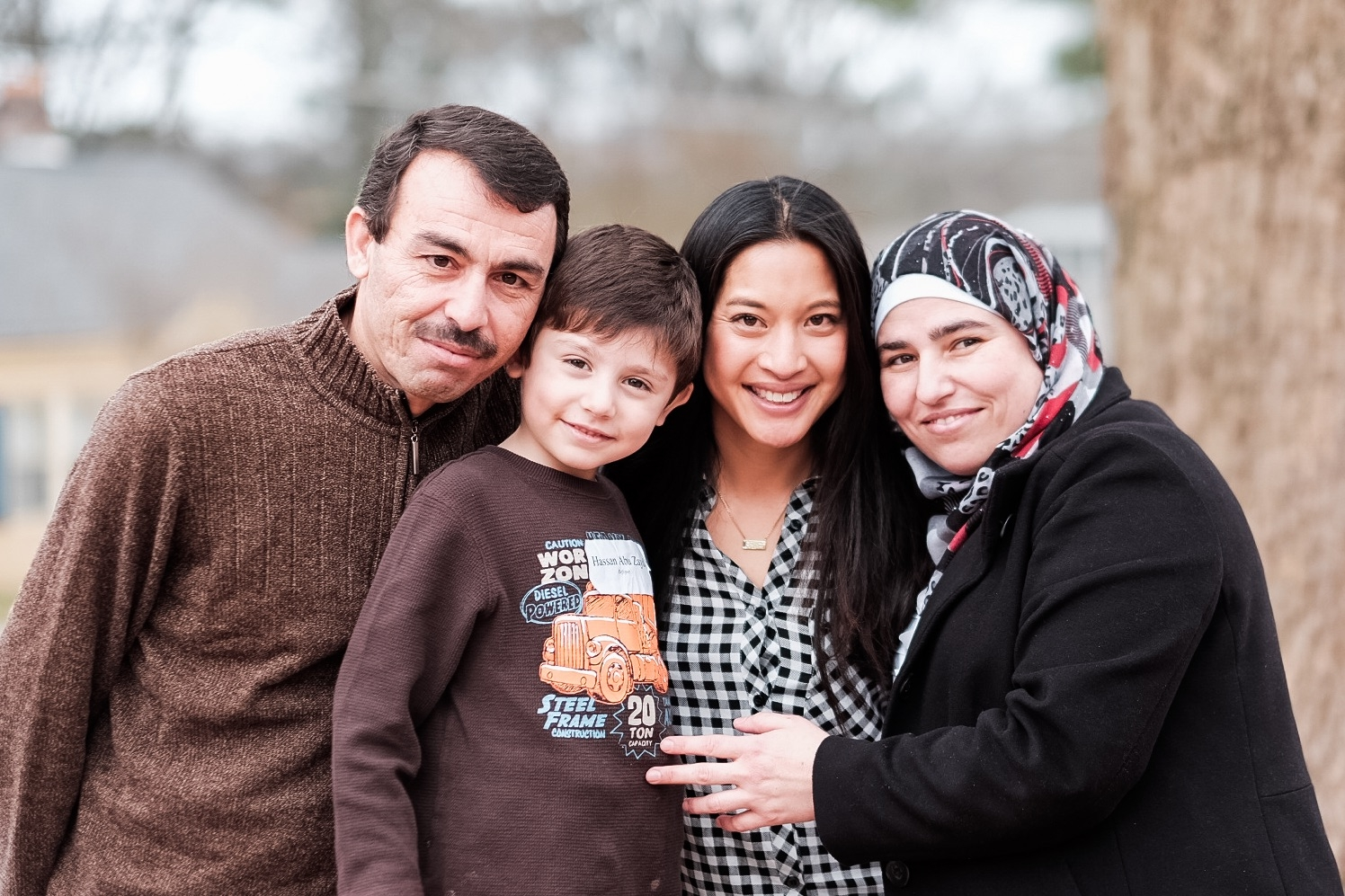 I support Georgia's vulnerable families, including the Syrian family of nine I resettled in Clarkston, Georgia.