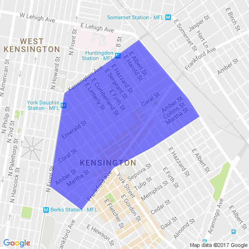 map of kensington philadelphia Boundaries Ekna The East Kensington Neighbors Association map of kensington philadelphia