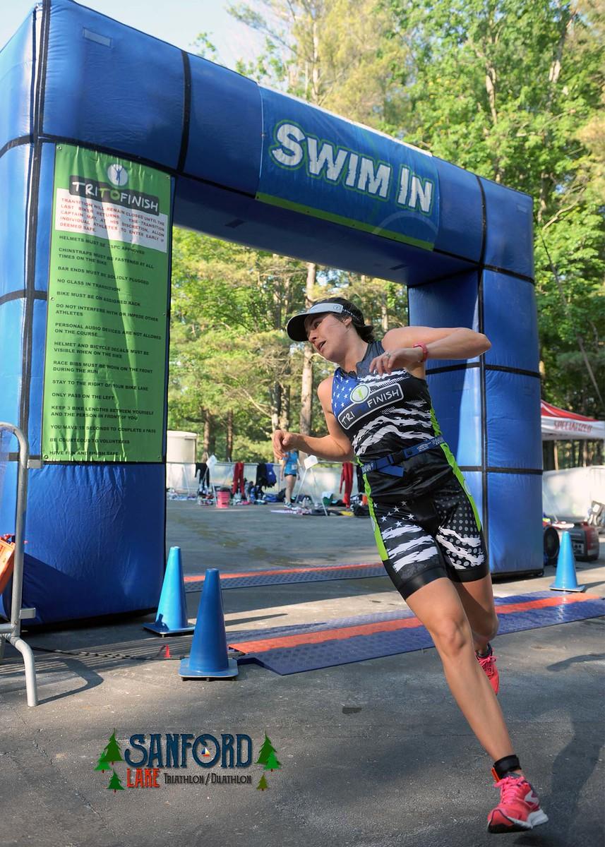 Sanford Lake Triathlon 2019 *COMPLETED — Tri To Finish