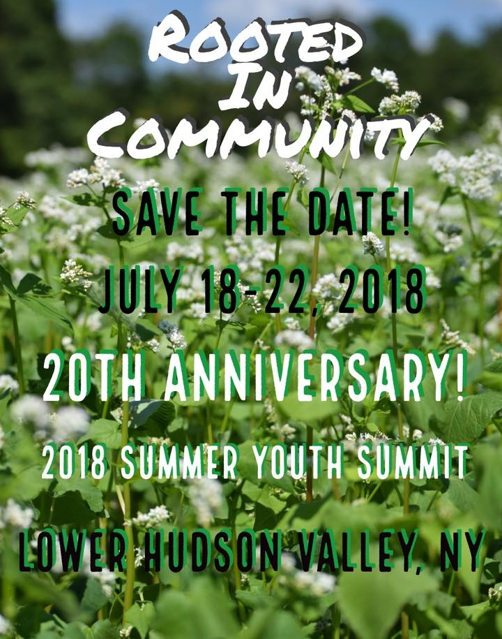 Rooted in Community - Summer Youth Leadership Summit - Celebrate our 20th Anniversary! -