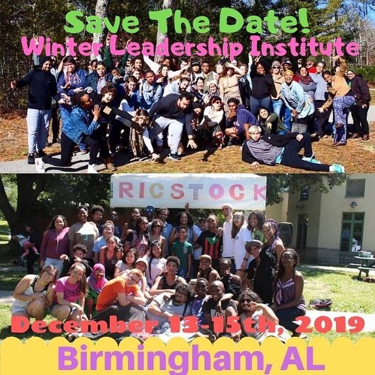 Rooted In Community would formally like to invite you all to our Winter Leadership Institute happening  this December 13-15th at Jones Valley Teaching Farm in Birmingham, AL. The Rooted in Community (RIC) Winter Leadership Institute is an opportunity for adults* involved with food system based youth-development programs to come together to share best practices and help each other grow personally and professionally. The institute is for adults who already have experience doing youth development food justice work. The format is a mix of facilitated workshops and open share space. The goal of the Winter Leadership Institute is to give adults that work with youth an opportunity to share experiences, get questions answered, and build relationships. Please Save the Date and look forward to more information on tickets coming soon! #WLI #RIC2019 #RICAL #RICBirmingham #RICheart