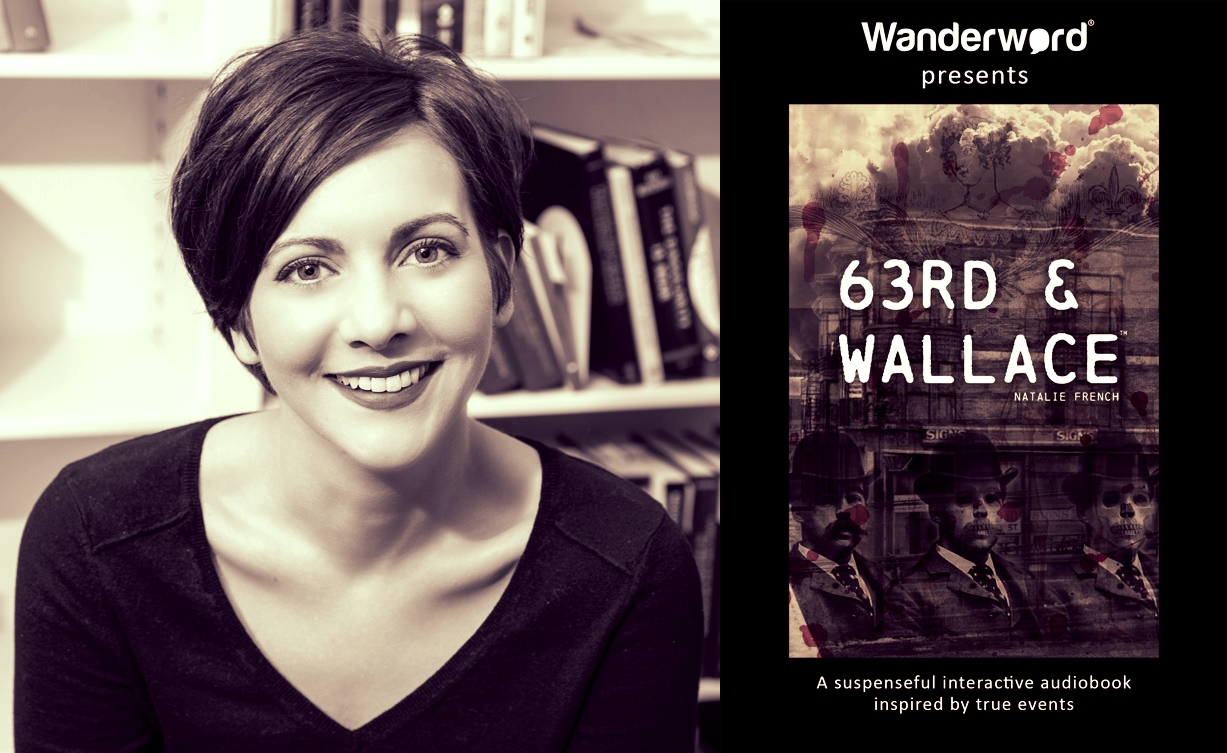 """OCTOBER 2018 - Interview #1   We sat down with published author Natalie French to discuss her latest work """"63rd & Wallace"""" - a suspenseful interactive audiobook inspired by true events. In this first of a series of interviews Natalie introduces the basic layout for the story"""