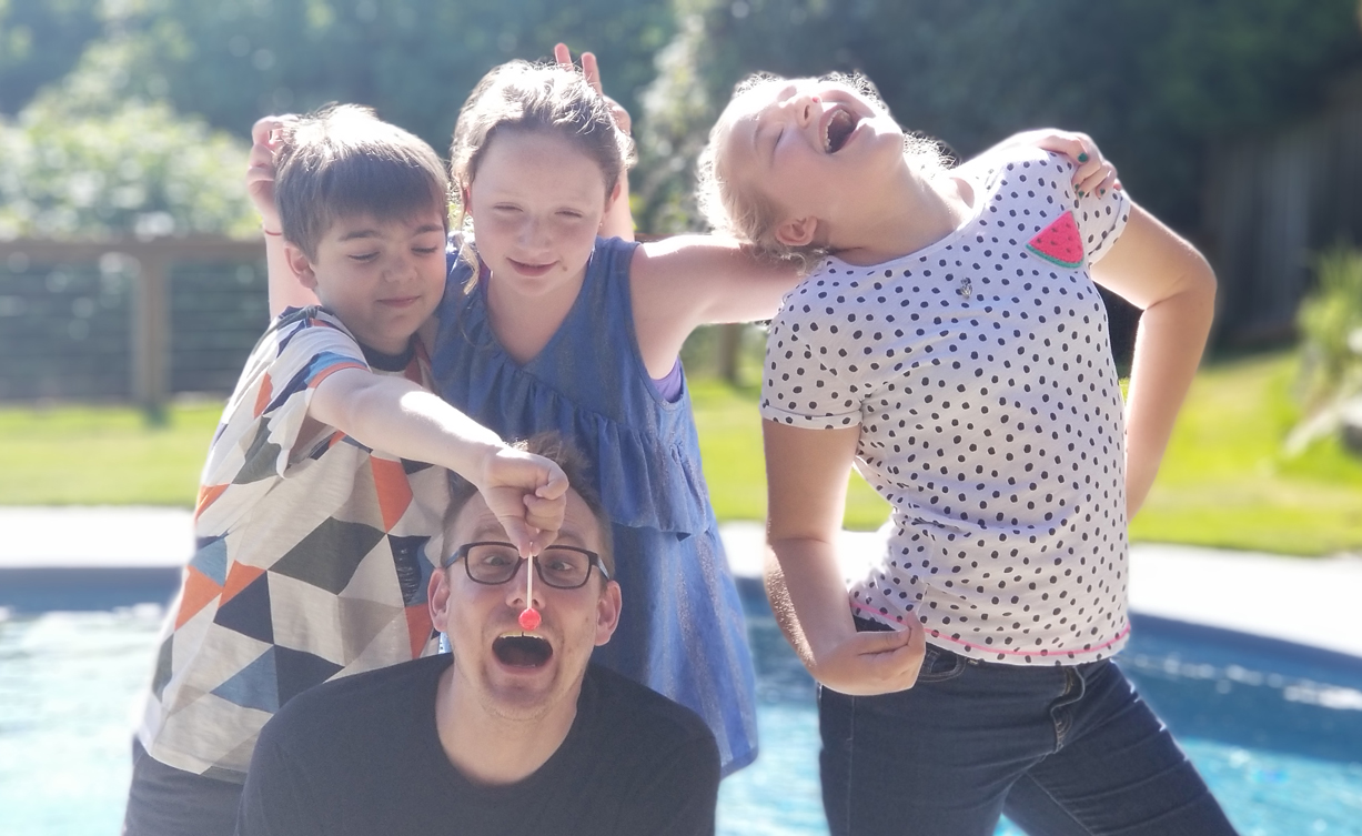 MAY 2018  - WanderFun. We spent an excxiting afternoon with youngsters Alexis, Gabby and Axel playing an early prototype of a word game (Mad-lib) for Wanderword. Check out the video! They seem to have enjoyed it! The tech worked reliably within no issues. Good work team