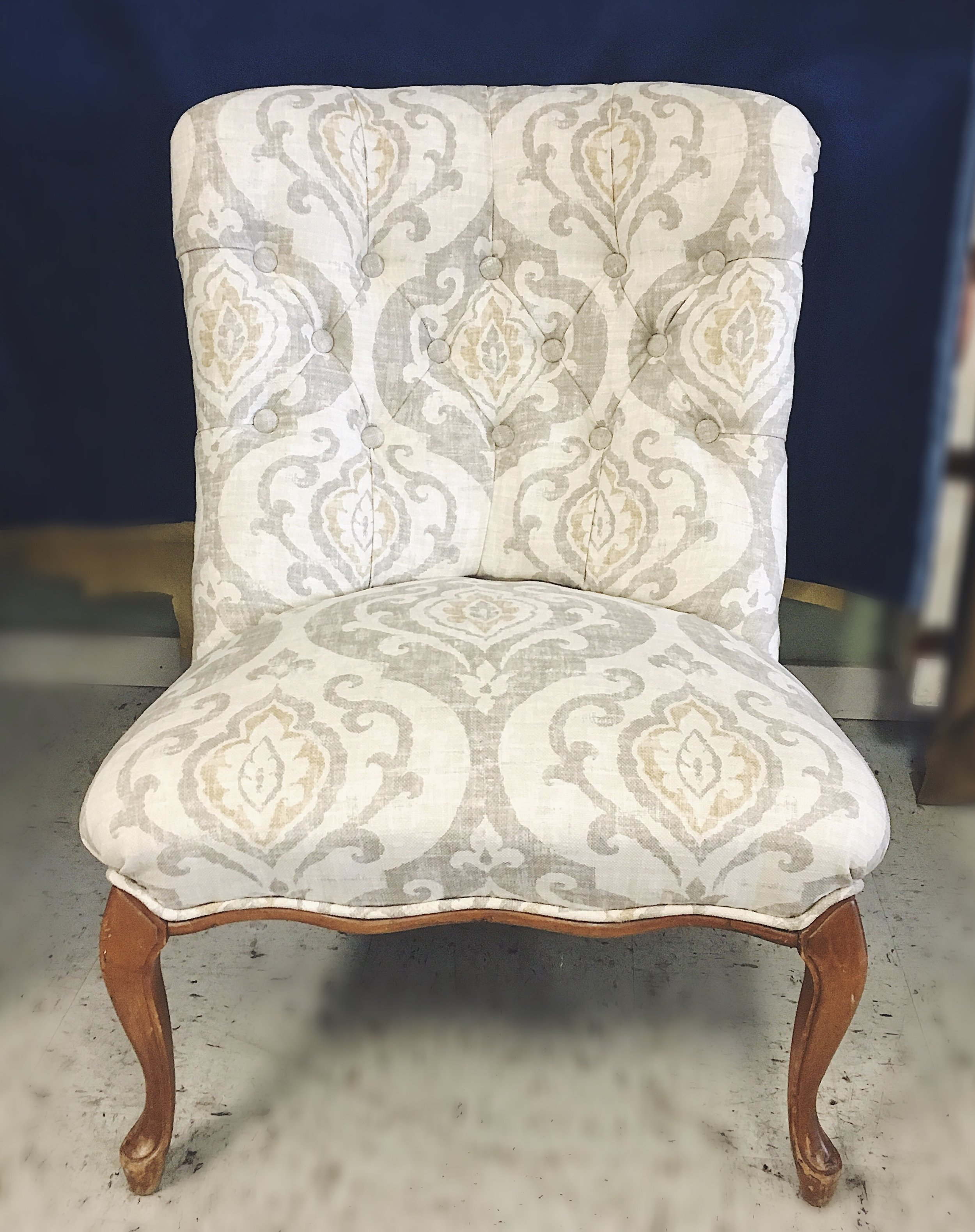 after upholstery