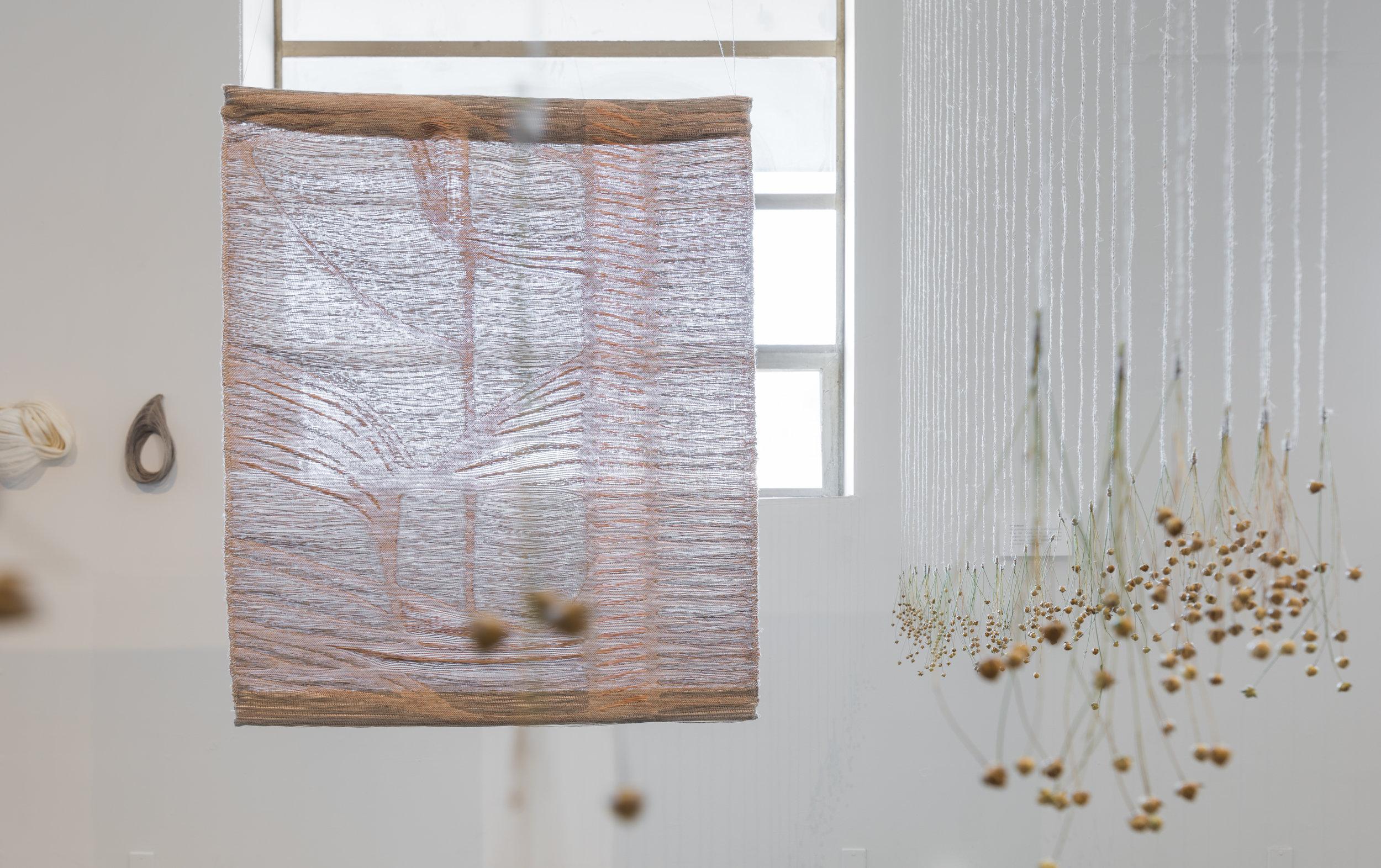 tc2 digital jacquard weaving: linen weft