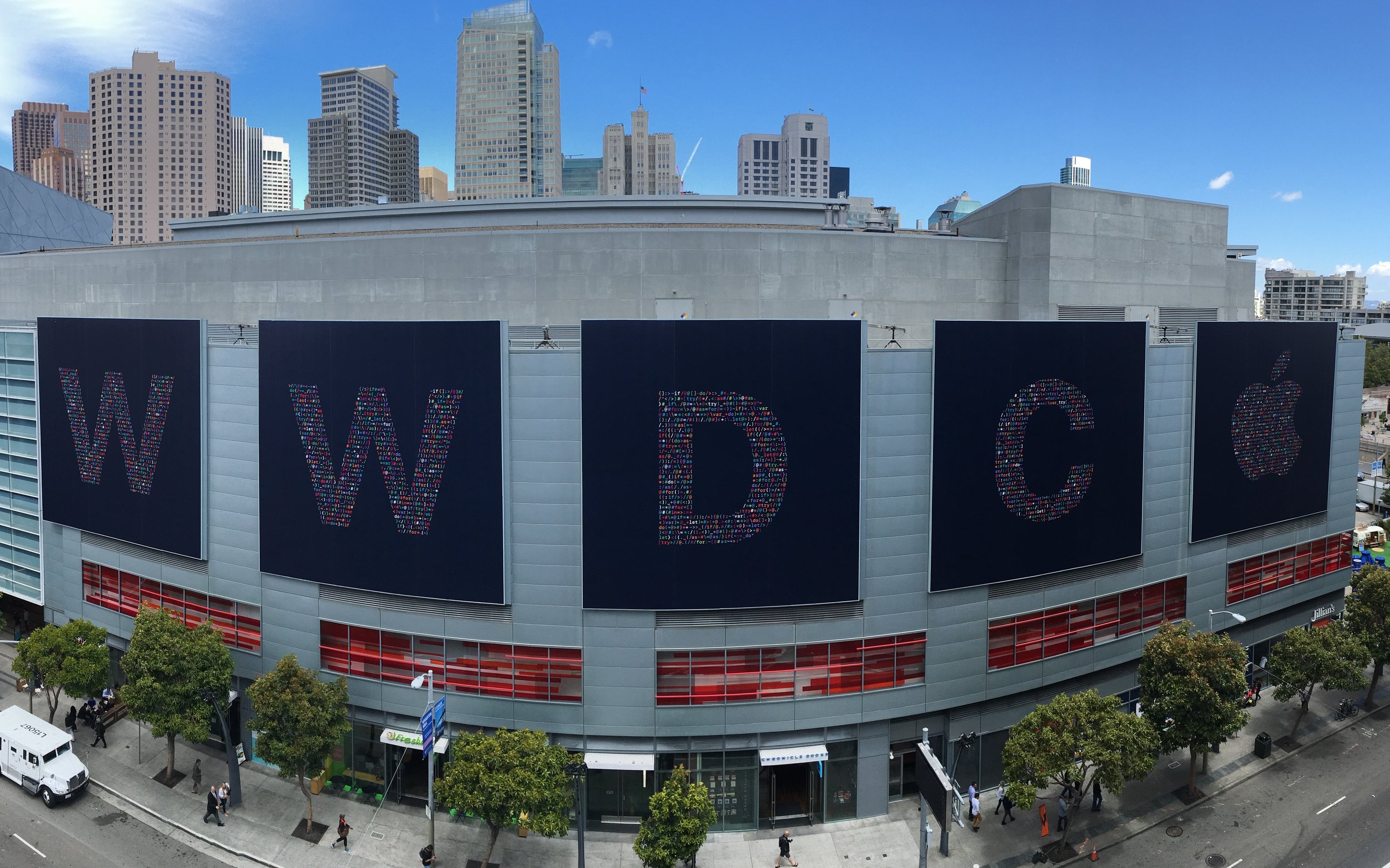 "photo credit: wka <a href=""http://www.flickr.com/photos/43675529@N00/27619502180"">WWDC Signs Pano</a> via <a href=""http://photopin.com"">photopin</a> <a href=""https://creativecommons.org/licenses/by-nc-sa/2.0/"">(license)</a>"