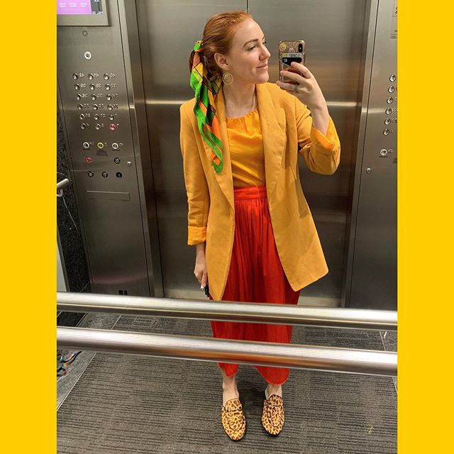 Hello! I have been a bit off my game lately. But here's a cute and colourful ensemble from the other day. Lots of love! #opshopstyle