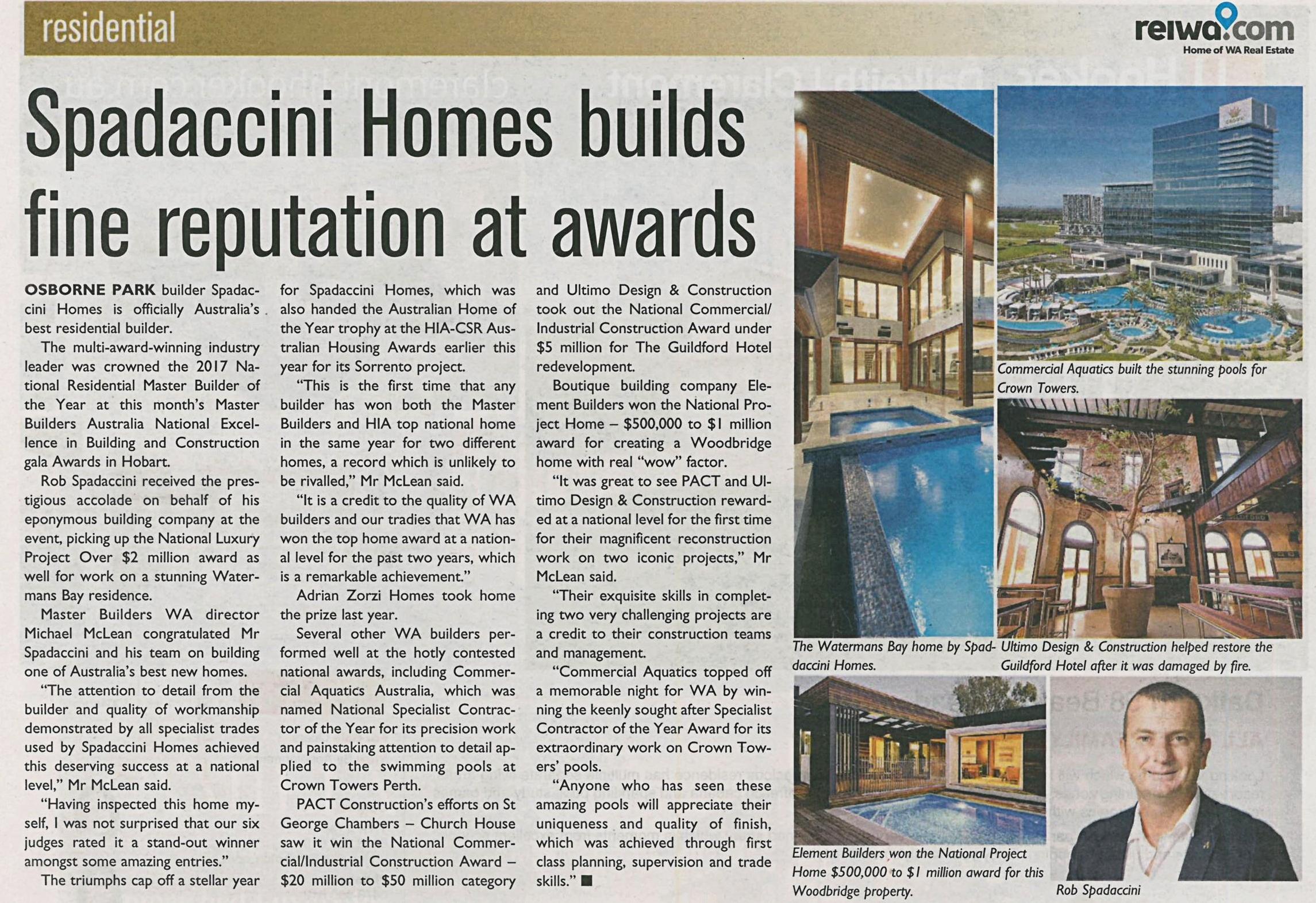Spadaccini Homes builds fine reputation at awards.jpg