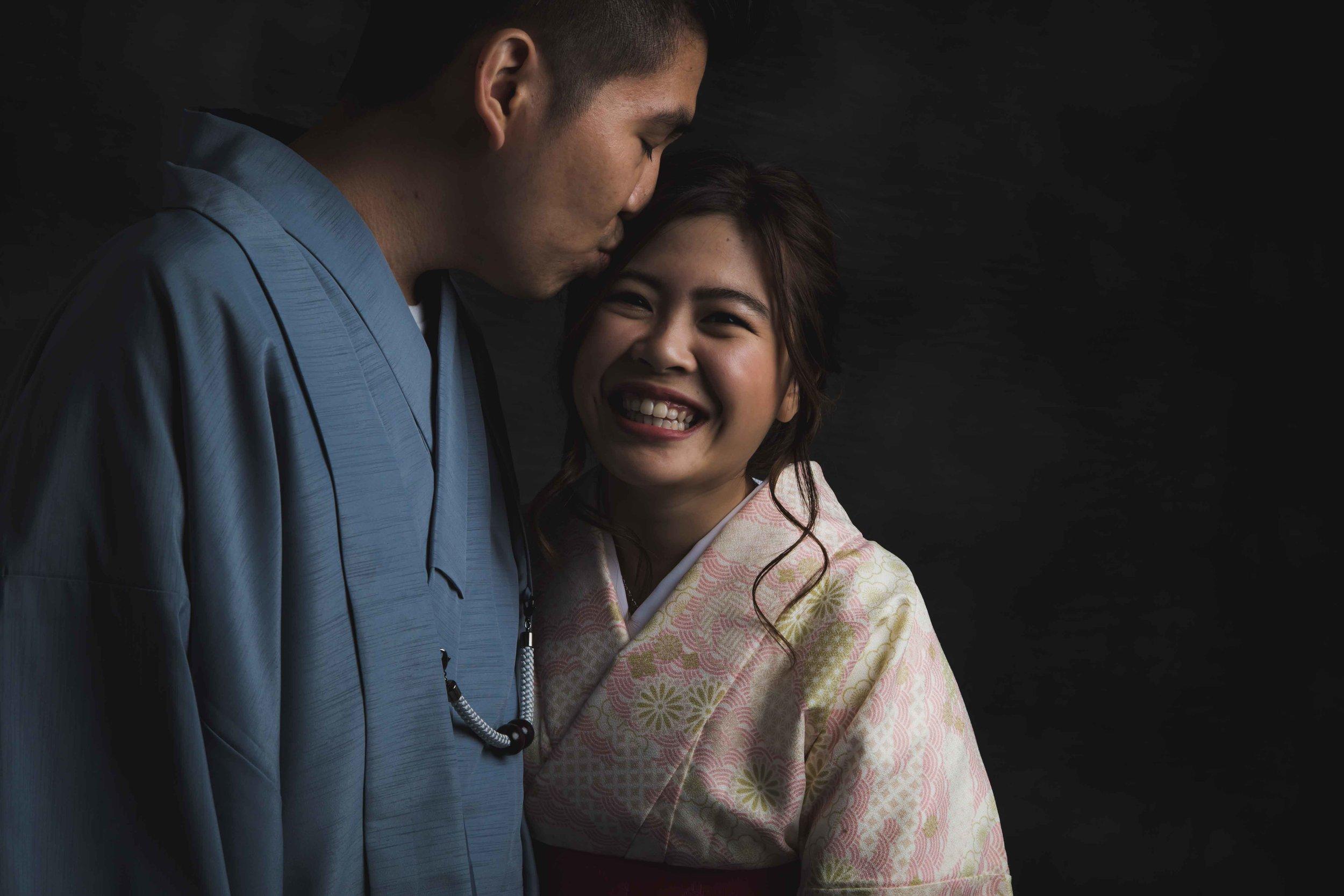 Couples photo shoot, Tokyo