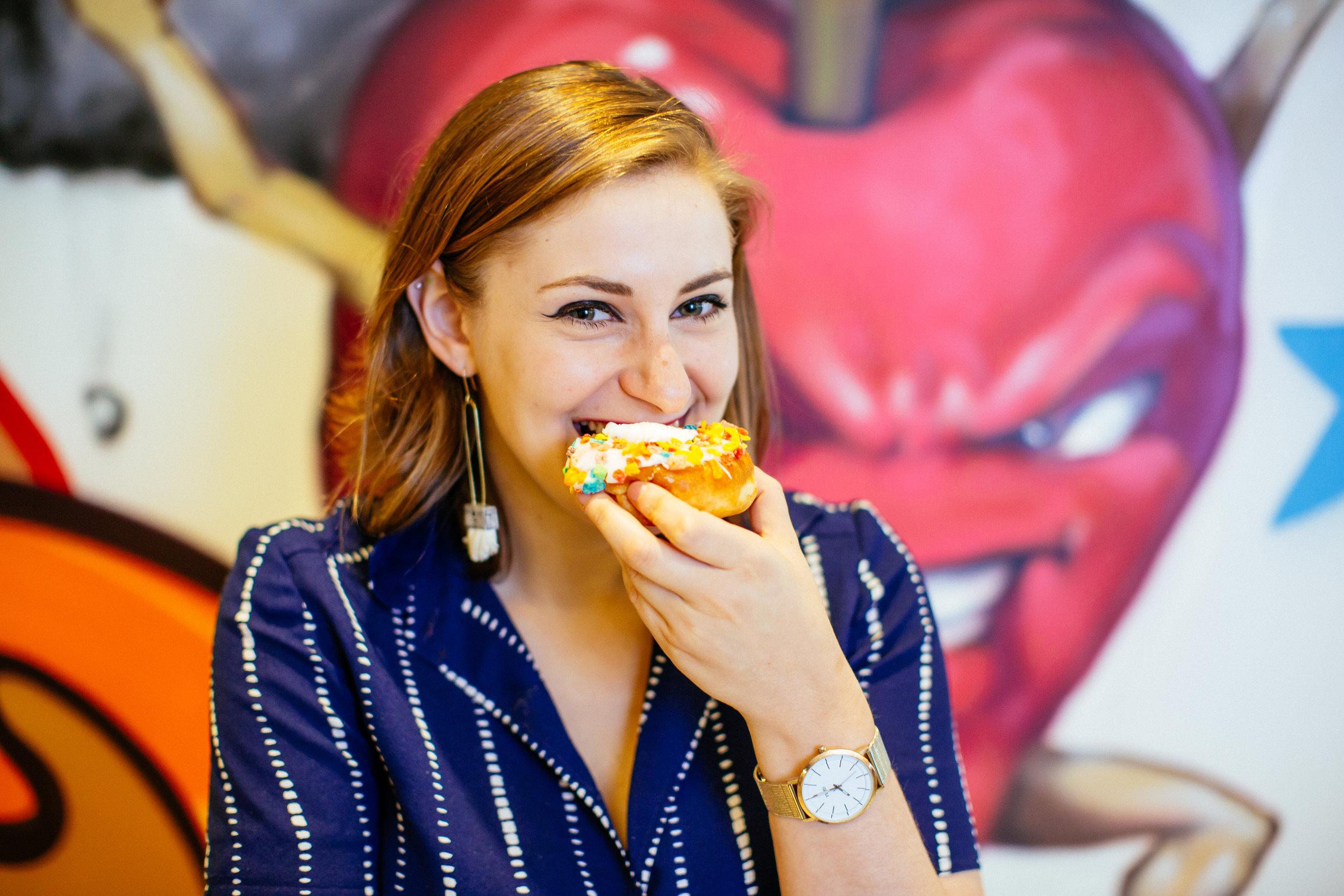 AMELIA EKUS PURSUES HER INTERESTS IN FOOD -