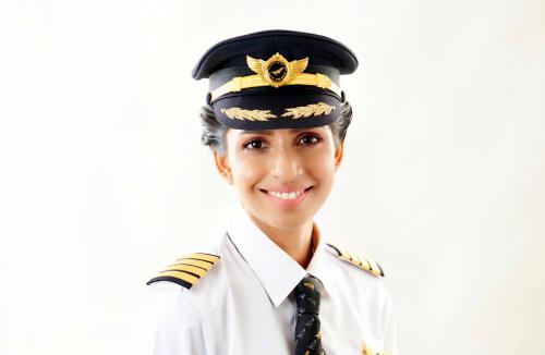 ANNY DIVYA: YOUNGEST FEMALE PILOT -