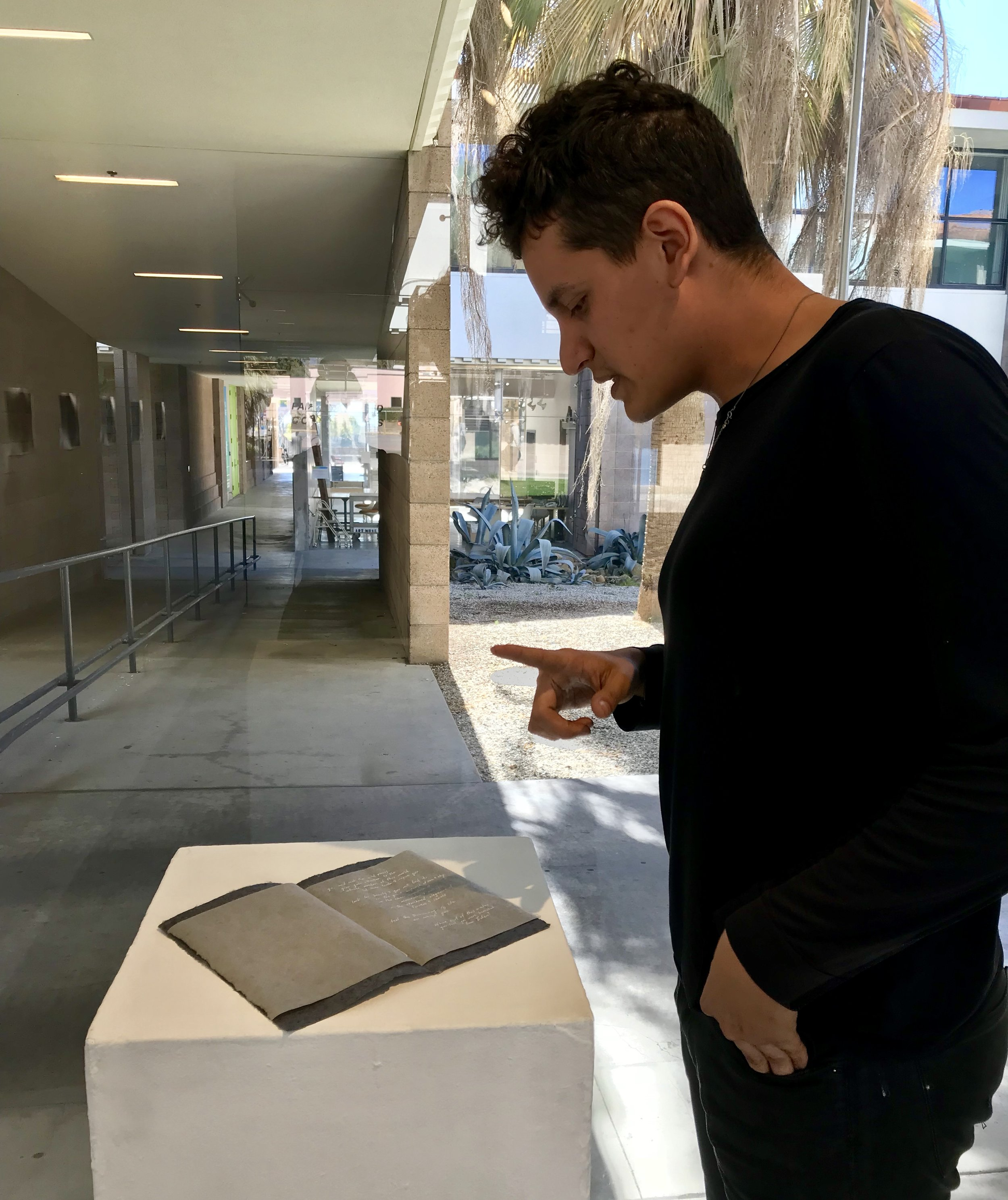 Robert Brian Huerta, a Masters of Fine Arts student at UCSB, talks about his work.
