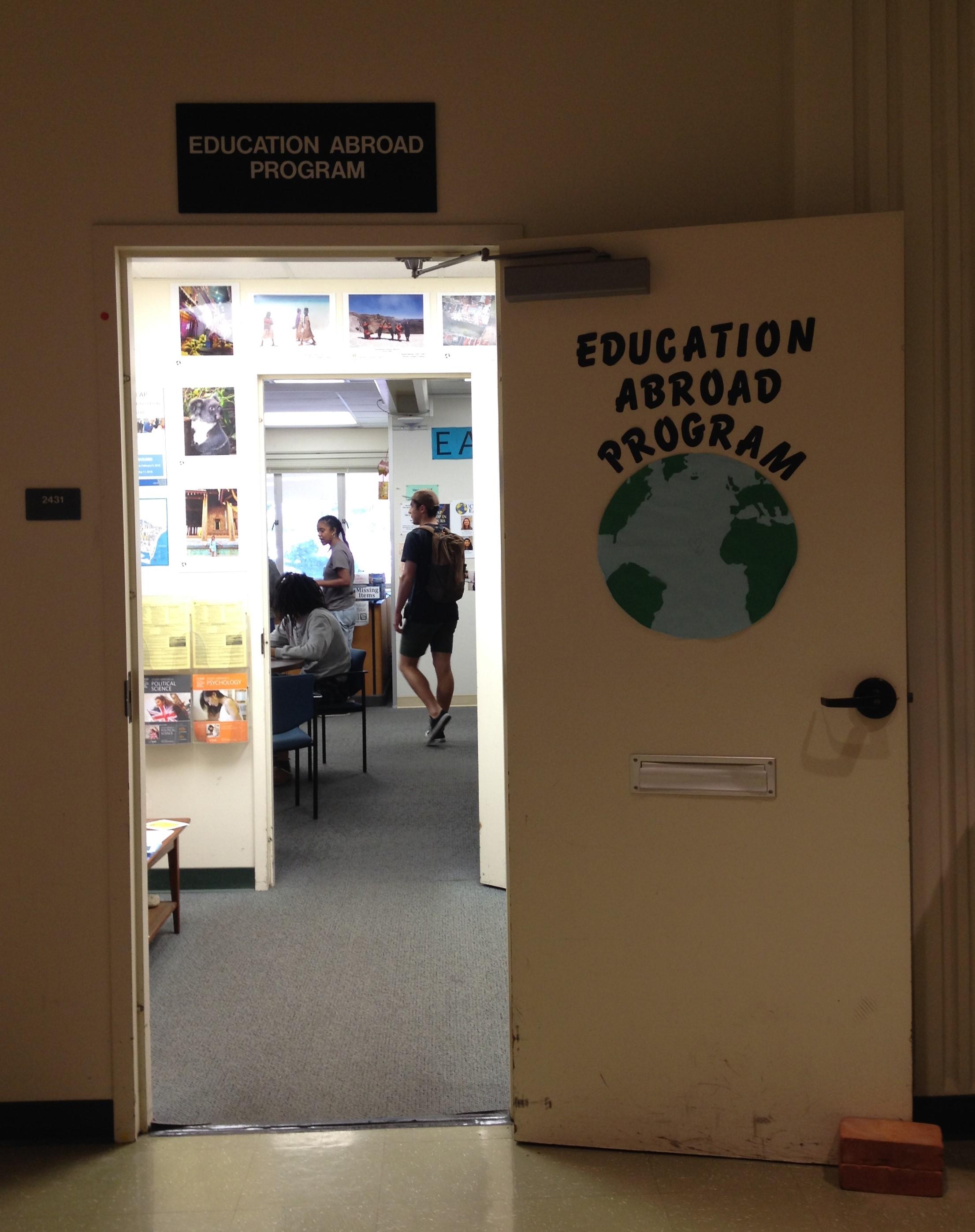 The Education Abroad Program (EAP) office at 2431 South Hall, UC Santa Barbara