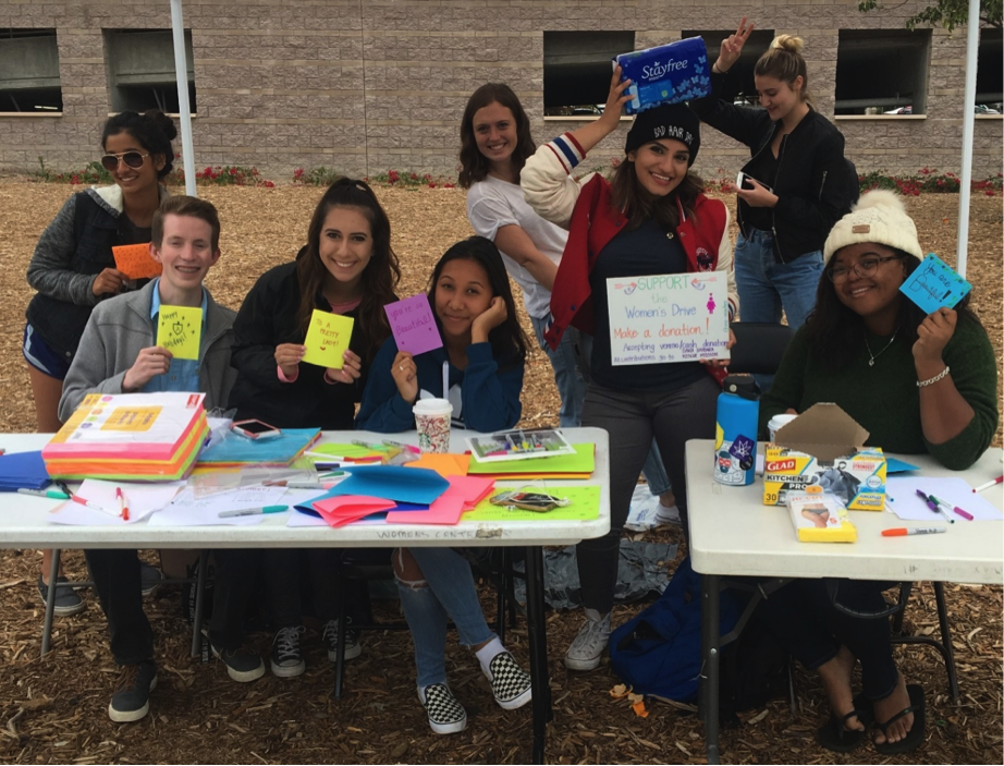 Members of Phi Alpha Delta enthusiastically attended the event and made cards for women at the Santa Barbara Rescue Mission shelter.