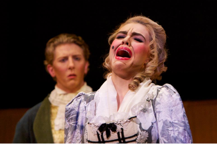 Kelly Newberry performs Le Nozze di Figaro in 2013. (Photo by Betsy Kershner)