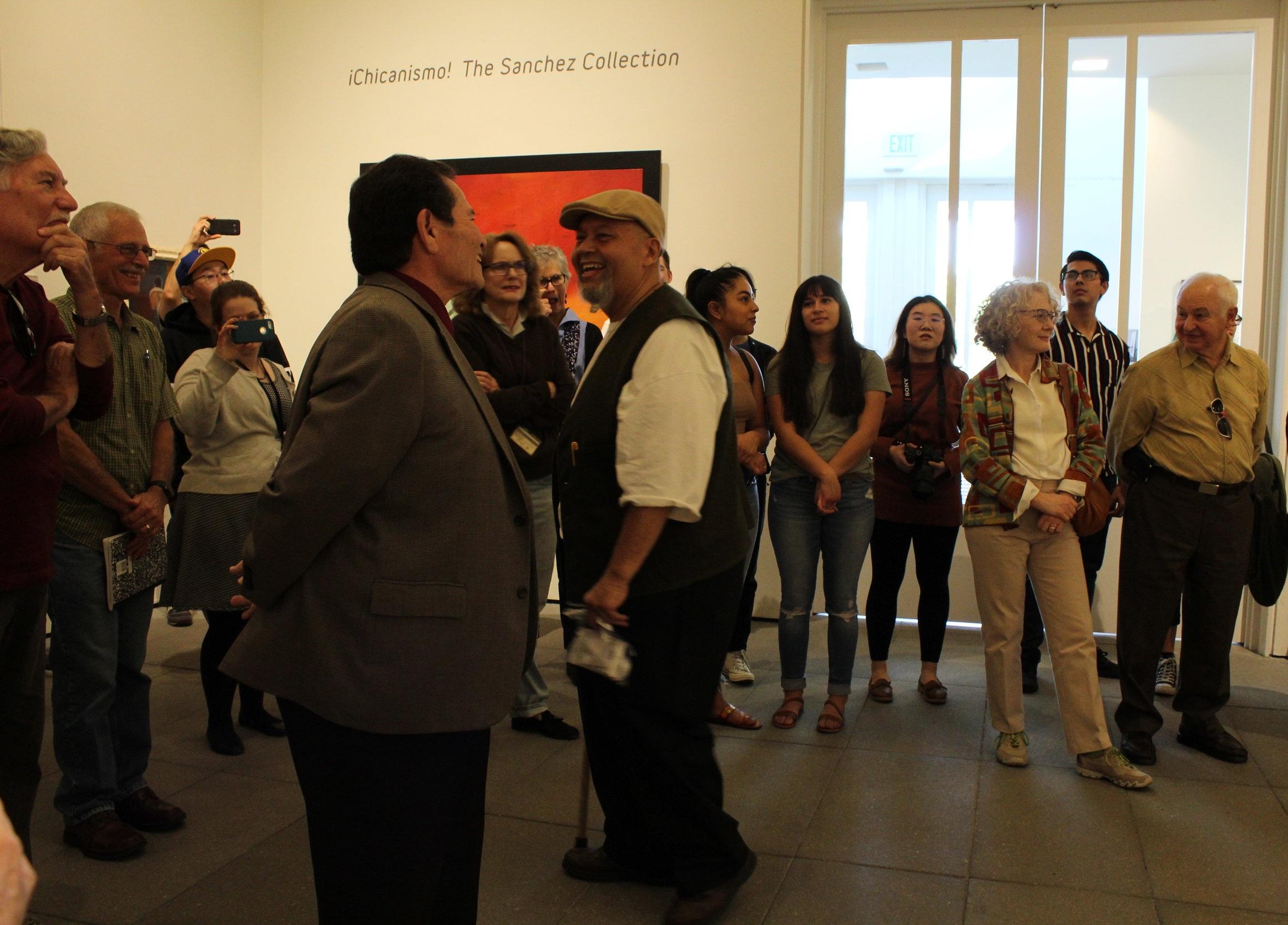 Tomás Sanchez introduces his friend and artist Leo Limón.