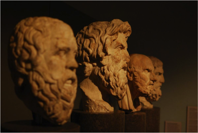 Are you thinking along the likes of the most famous Ancient Greeks, without even realizing it?   ( Source: Top 10 Ancient Greek Philosophers )