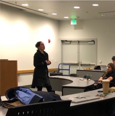 Space architect Barbara Imhof speaks about her projects at UC Santa Barbara.