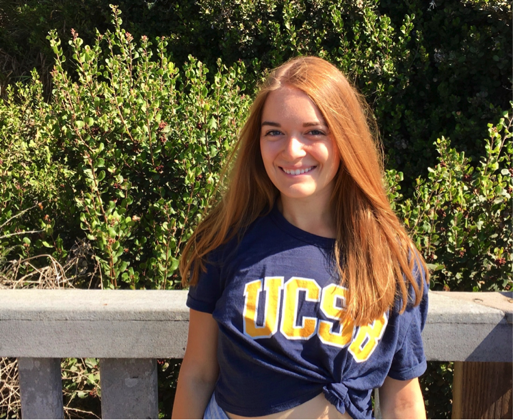 Allie Cook, a second-year Linguistics student at UC Santa Barbara, said she is never bored in a linguistics class and is studying to become a speech-language pathologist.