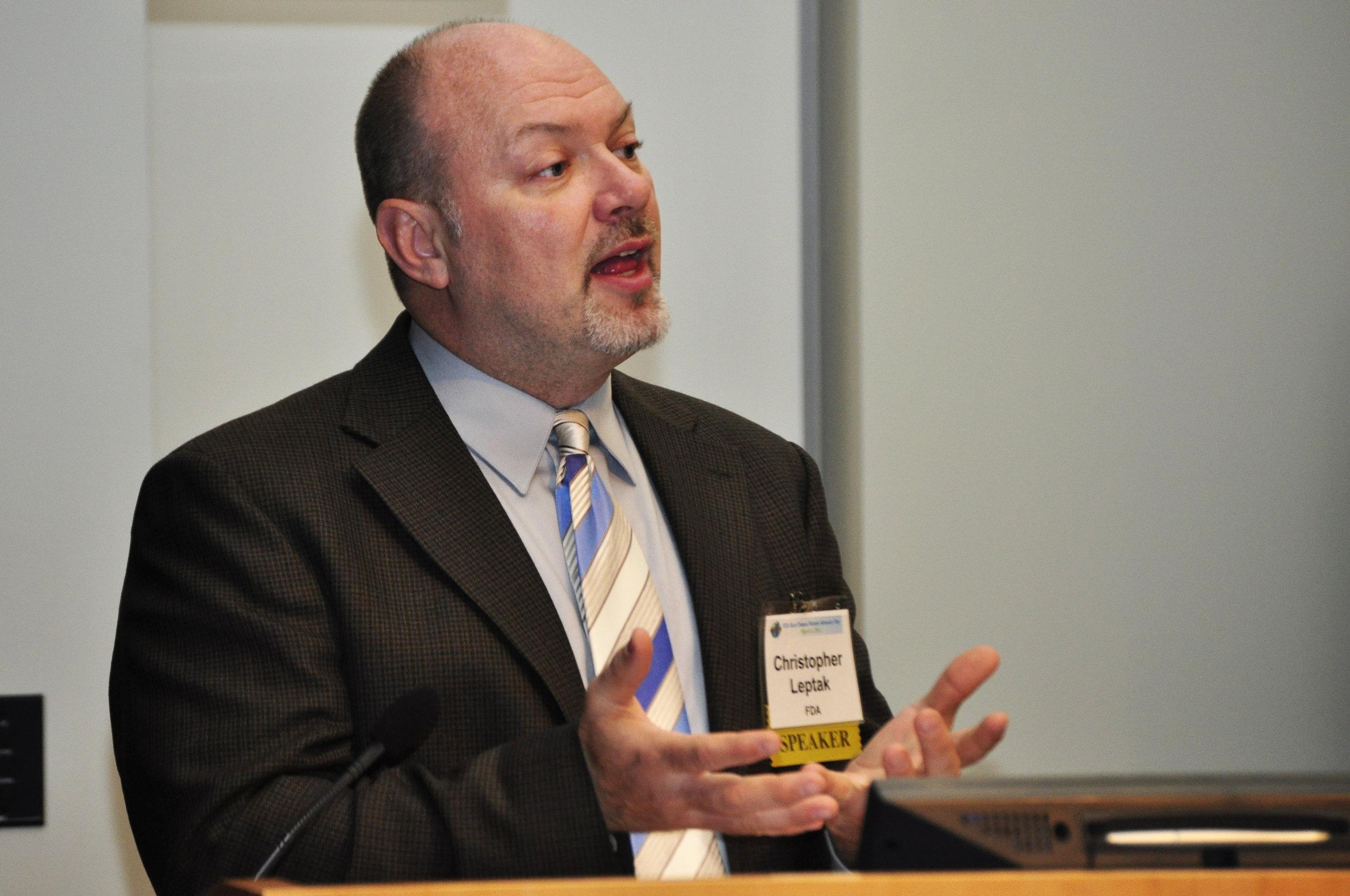 Cristopher Leptak (FDA, USA)