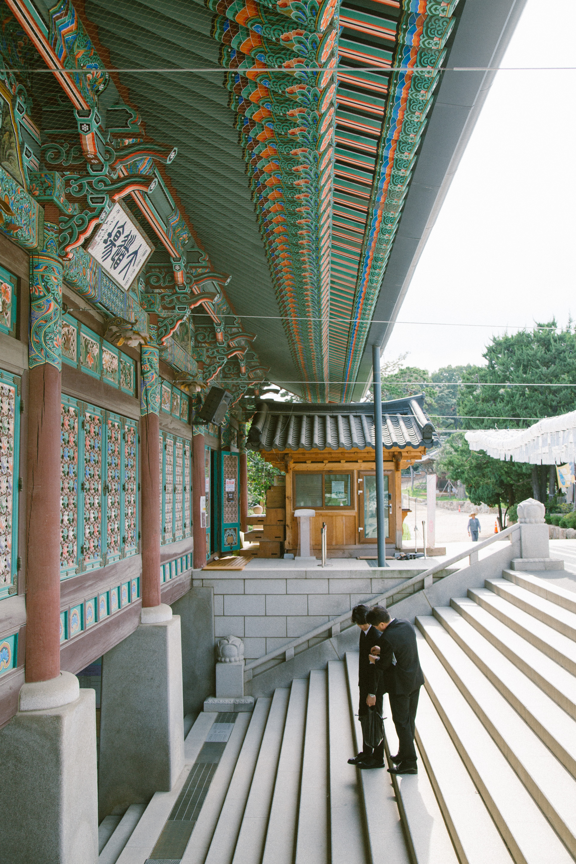 Bongeunsa temple - Bongeunsa is a Buddhist temple founded in 794 during the Silla, one of the Three Kingdoms of Korea period ( back about 1,200 years ).