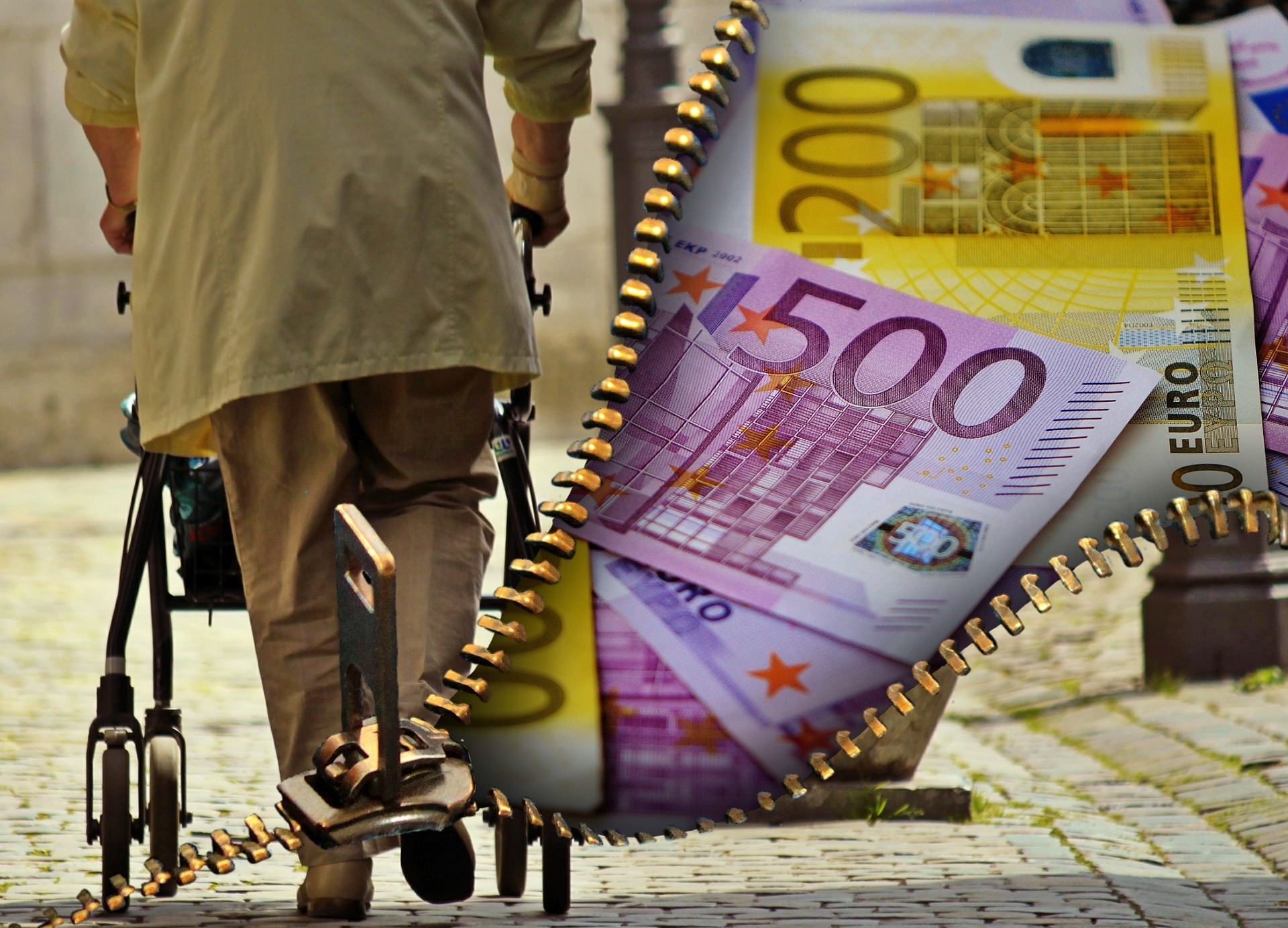 Unsicherheiten werden benutzt, um die Wirtschaft zu beleben, trotzdem ist das Risiko der Altersarmut real