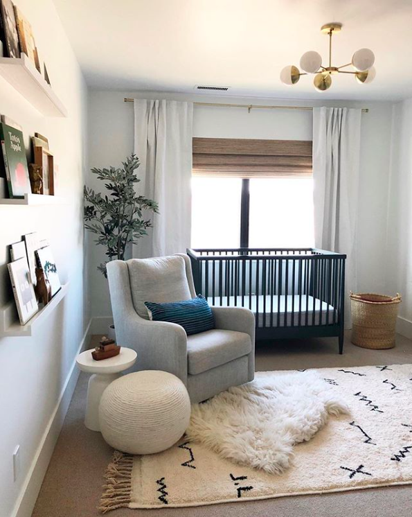Layering up window dressings will help with early risers or troublesome nappers. Image Credit:  Price Landing