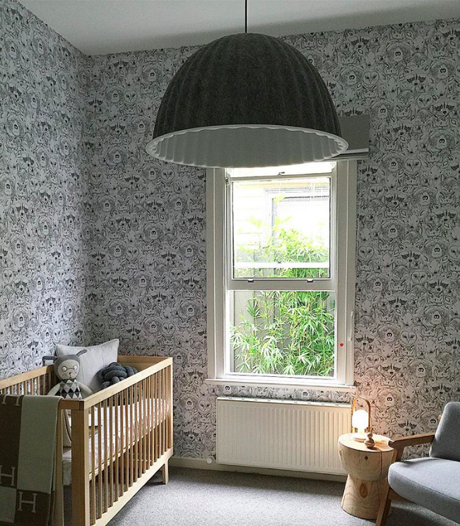 Use of white noise will drown out any household or external noise. Photo Credit:  Liberty Interiors