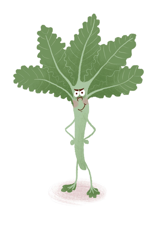 Introducing..Kale Man!