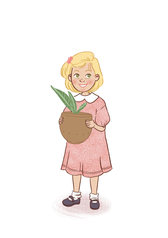 Jenny Character Design..Kale Man!