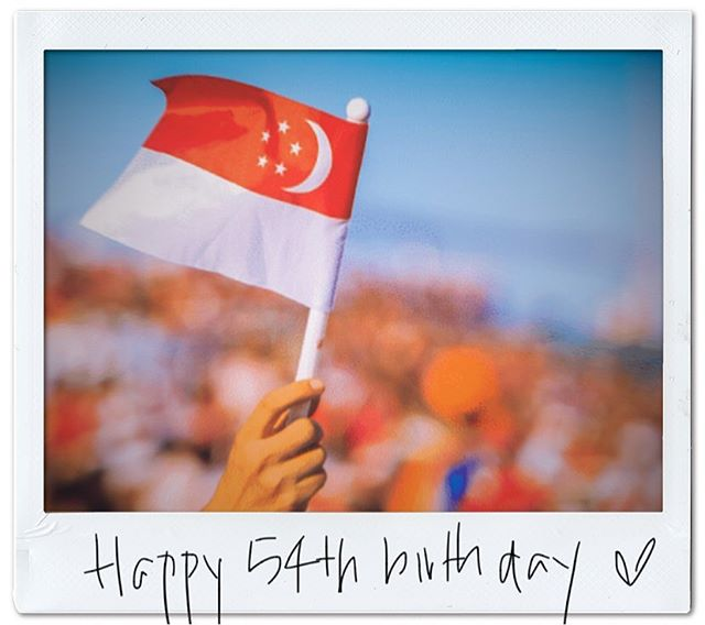 Happy 54th birthday Singapore!! 🇸🇬💕