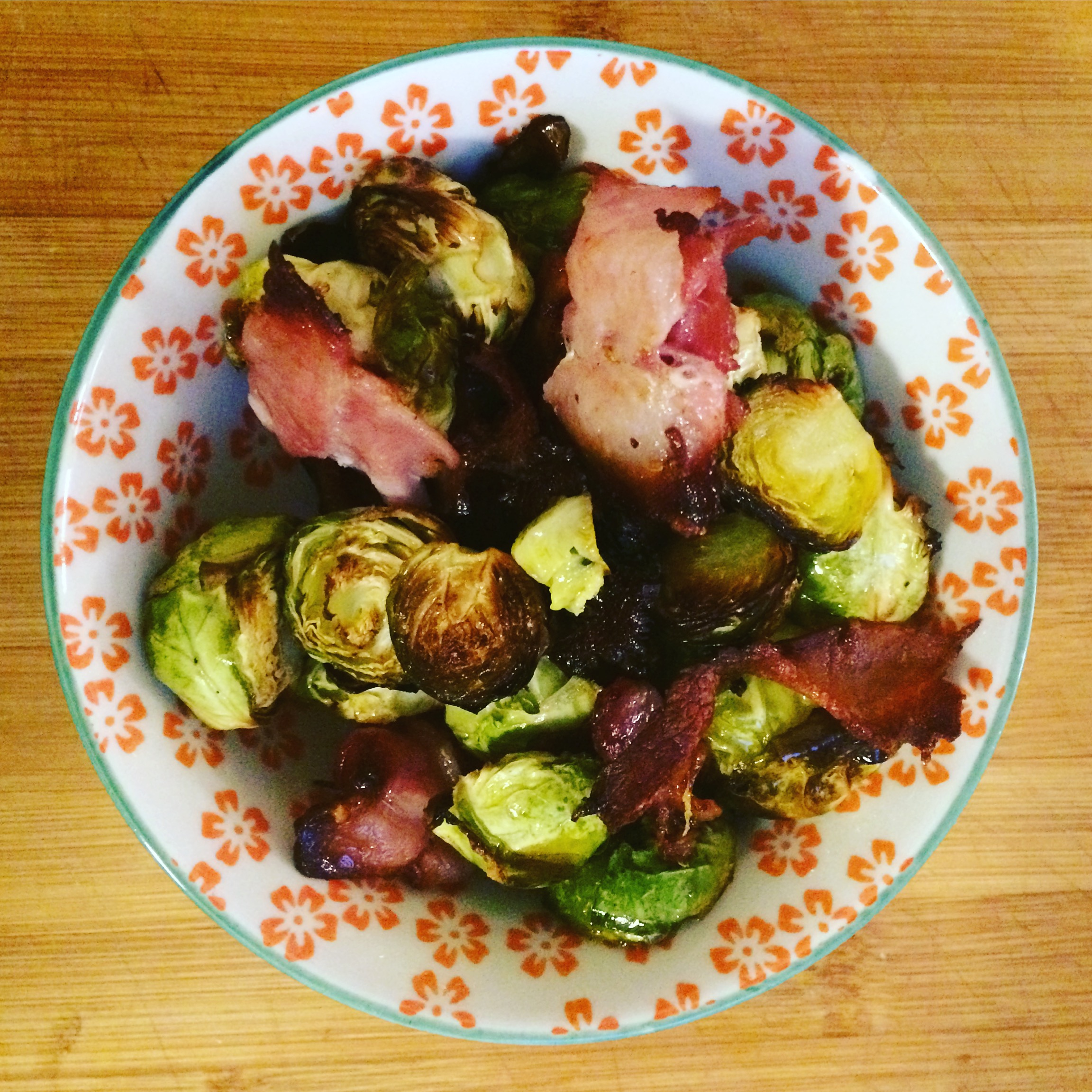 christmas brussel sprouts and bacon.JPG