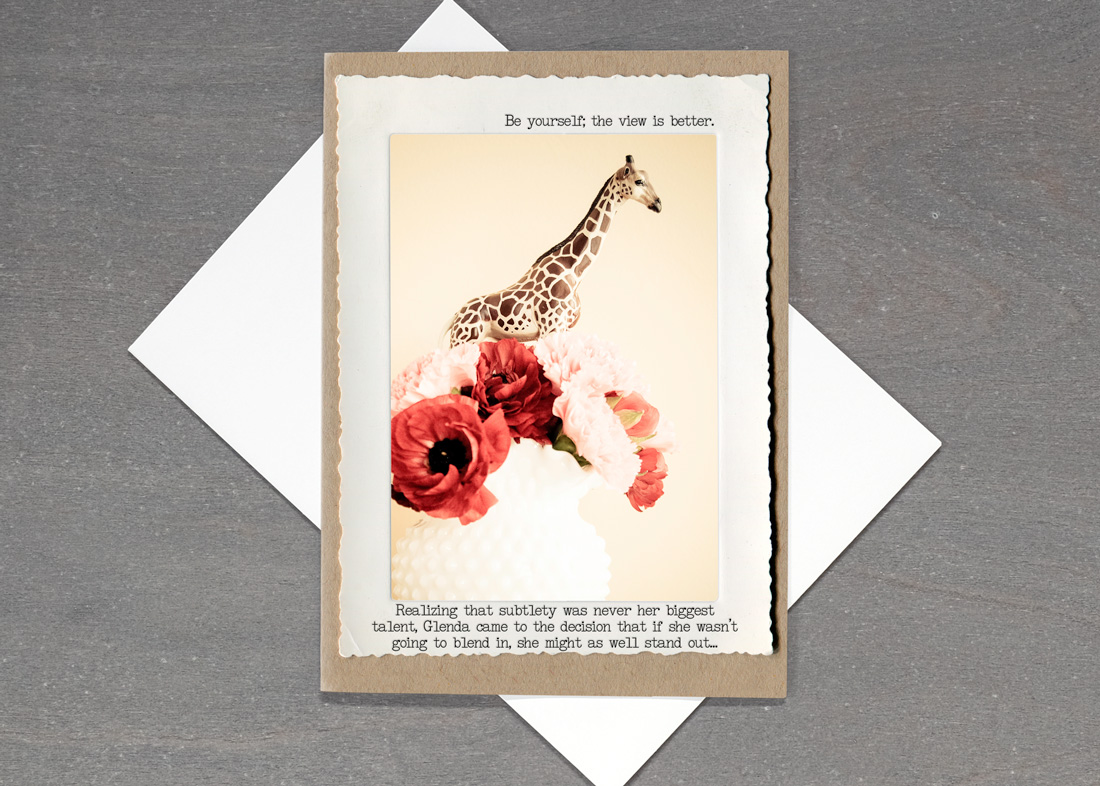 Giraffe Vase • TMI-15GV-C7
