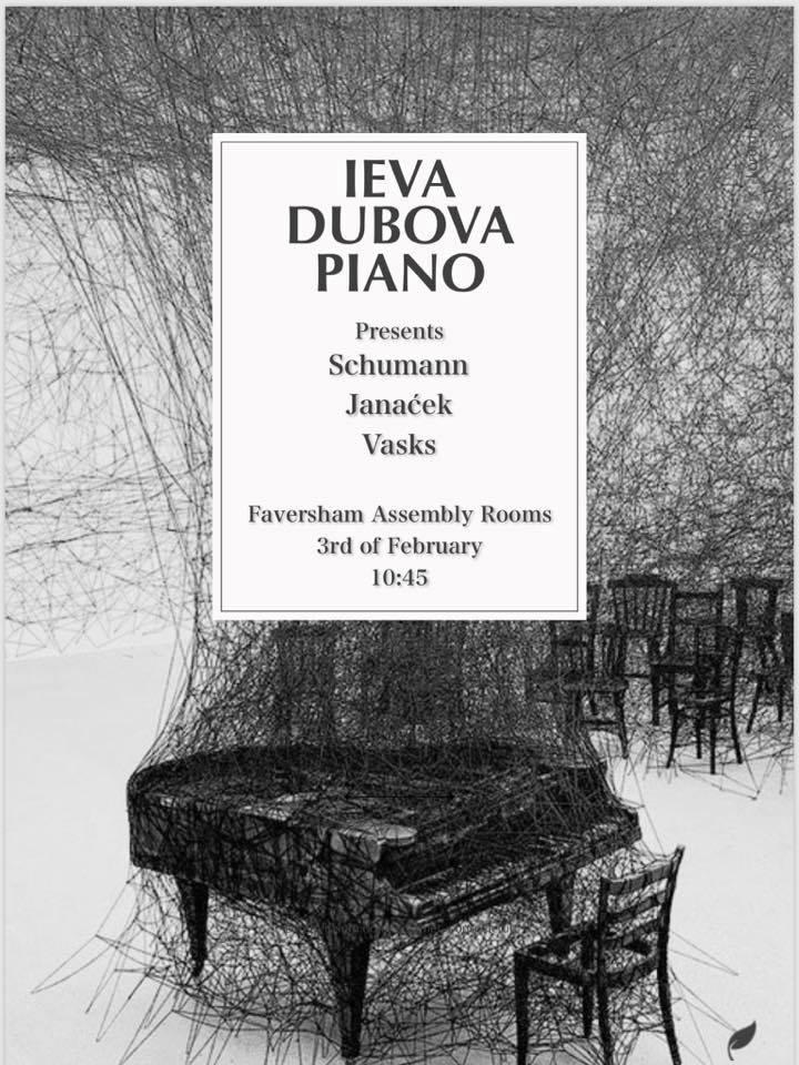 Piano Recital - Schumann 'Kinderscenen'Janacek 'In the mist'Vasks 'Little night music'