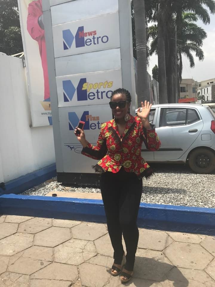 Outside of Metro TV GH
