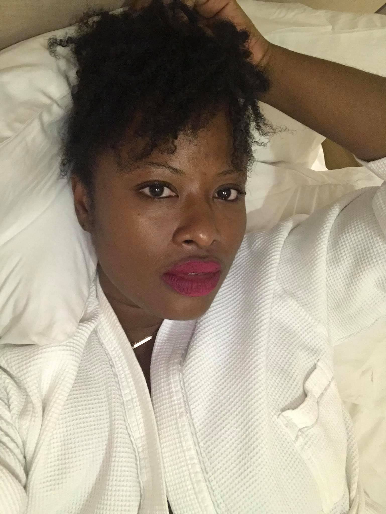 I stayed at the Azure Nairobi Hotel in Westlands. It wasn't luxe or anything but it was a solid hotel, had a pool and a spa on location. Had a bomb mani, pedi there.