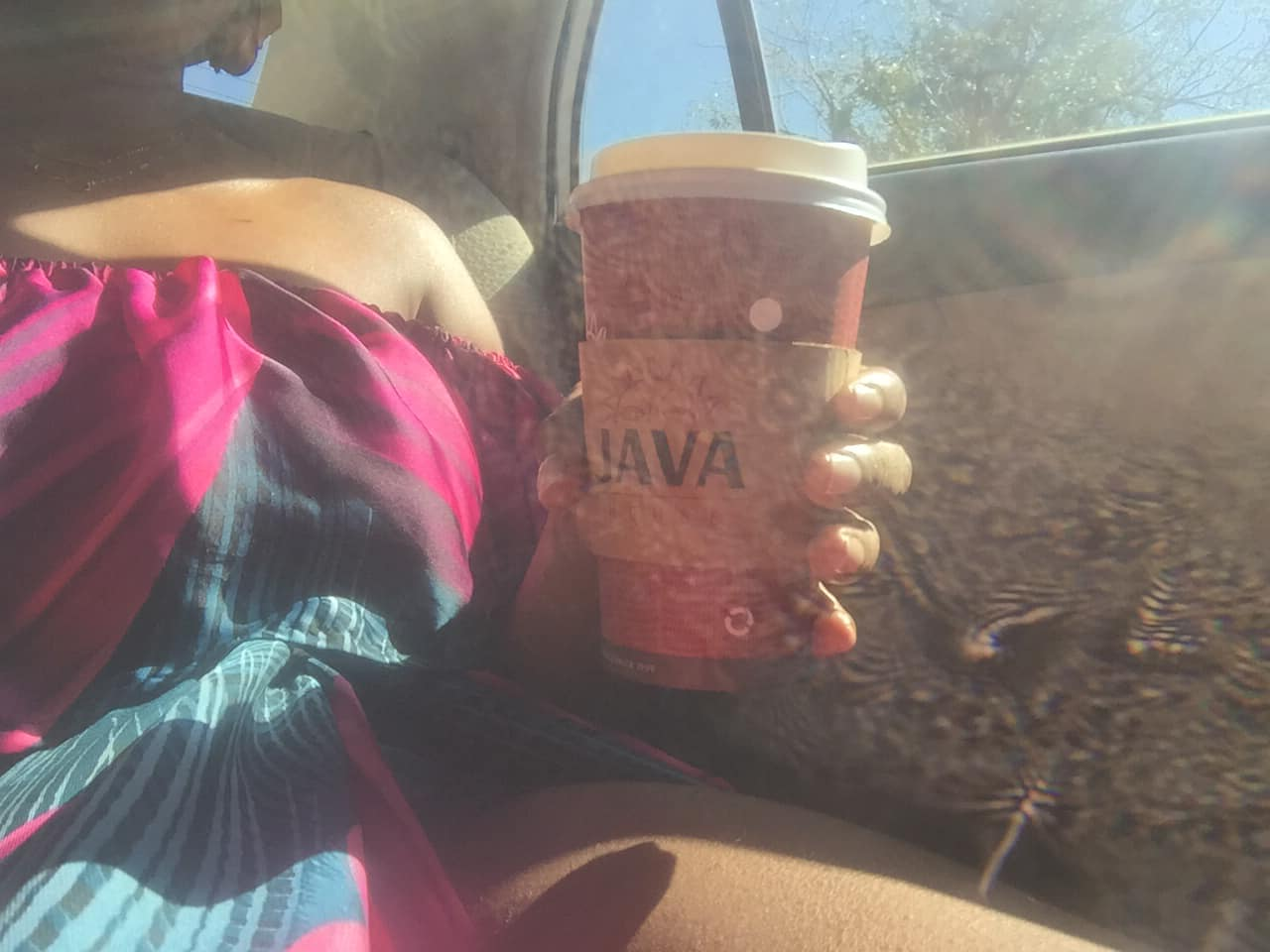 thigh and coffee