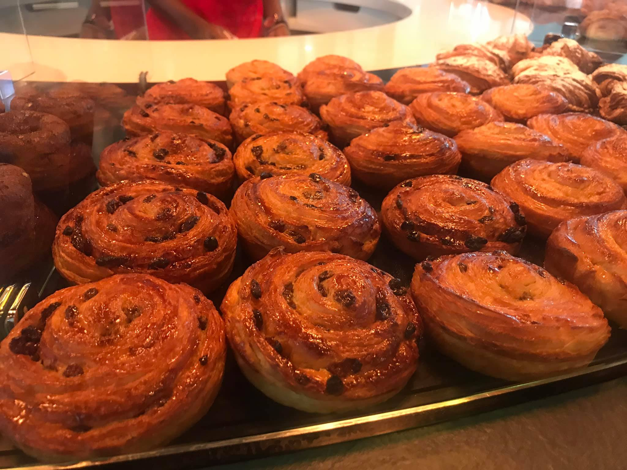 Amazing raisin buns at Le Grenier at the Riverside Building in Westlands. Absolutely delicious. They know what they are doing in the pastry department. Also they had the best coffee of the three places I had coffee in Nairobi. Their sticky bun also was beyond the one at Artcaffe